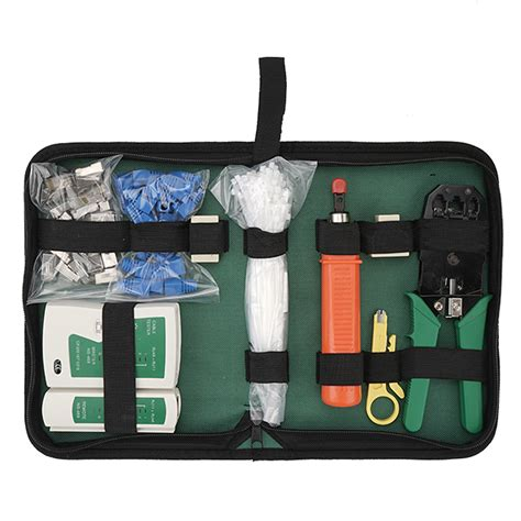 Network Tool Kit Combination Set 9-in-1 Network Tool Set Set of 10 Domestic Set