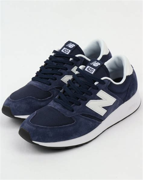 New Balance 420 Navy Sneakers