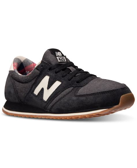 New Balance 420 Sneaker Womens Black