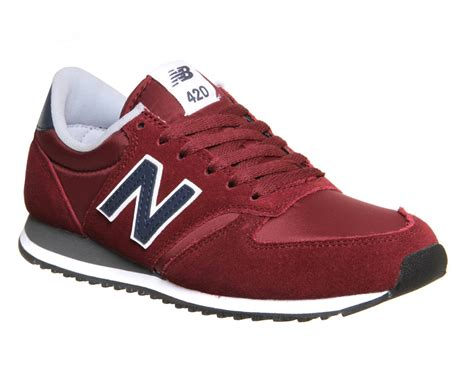 New Balance 420 Suede Sneakers