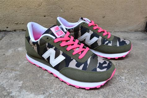 New Balance 501 Camo Sneakers
