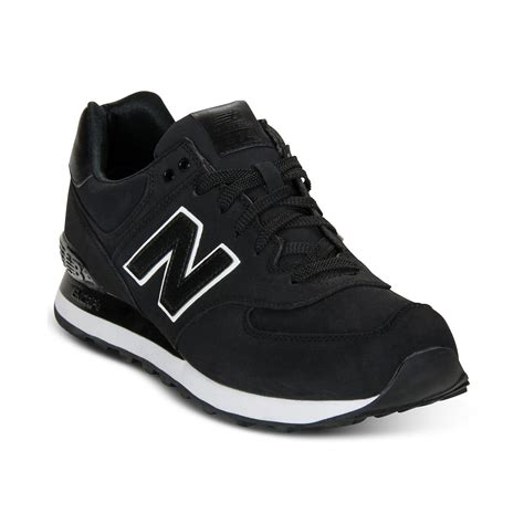 New Balance 574 Black Sneakers