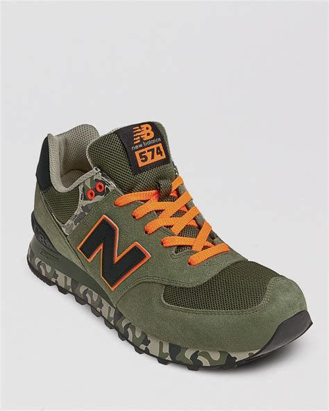 New Balance 574 Camo Sneakers