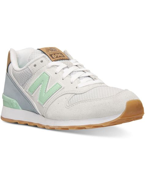 New Balance 696 Sneakers Grey Green
