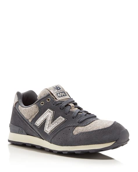 New Balance 696 Tomboy Lace Up Sneakers