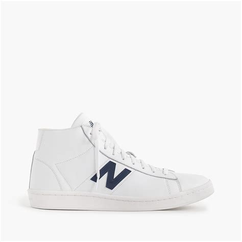 New Balance 891 Leather High Top Sneakers