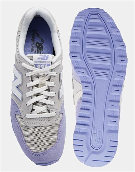 New Balance 996 Pastel Gray Lilac Suede Sneakers