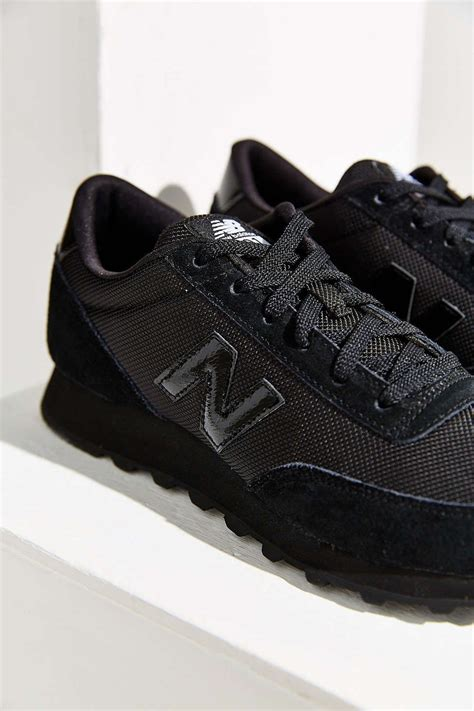 New Balance Black 501 Running Sneaker