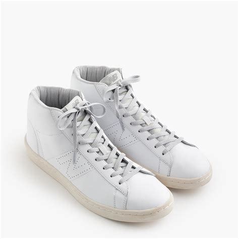 New Balance For J Crew 891 Leather High Top Sneakers