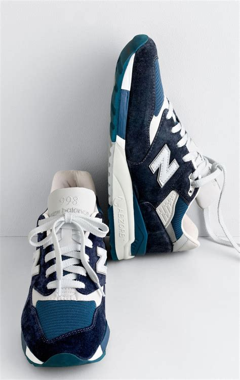 New Balance For J Crew 998 Midnight Moon Sneakers
