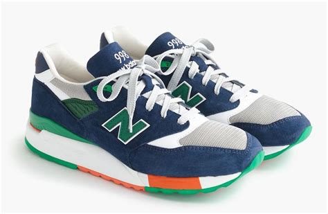 New Balance For J Crew 998 Toucan Sneakers