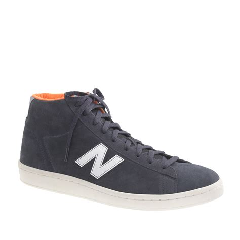 New Balance For J Crew Grey High Top Sneakers