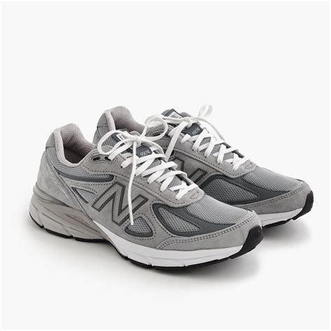 New Balance For J Crew Grey Sneakers