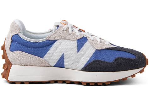 New Balance Grey And Blue Sneaker
