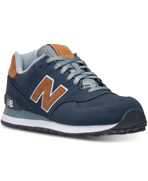 New Balance Grey Mens Sneakers