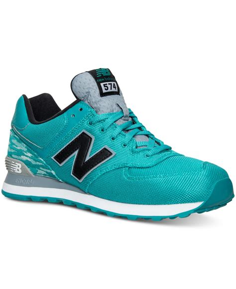 New Balance Men's 574 Summer Waves Casual Sneakers