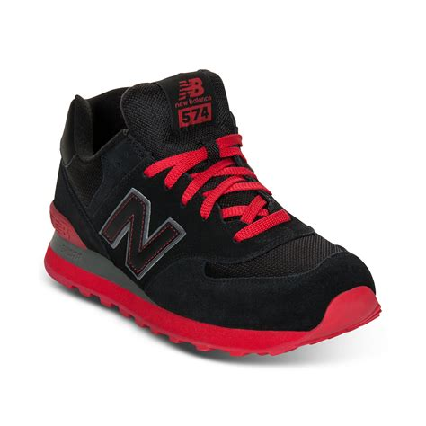 New Balance Red And Black Sneakers