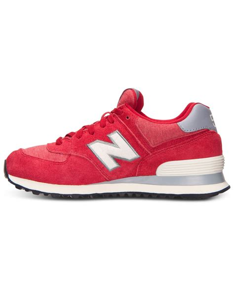 New Balance Red Womens Sneakers