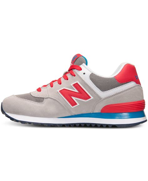 New Balance Womens 574 Glitch Casual Sneakers From Finish Line
