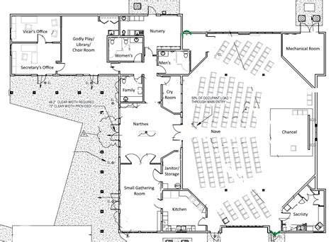 New Church Building Plans