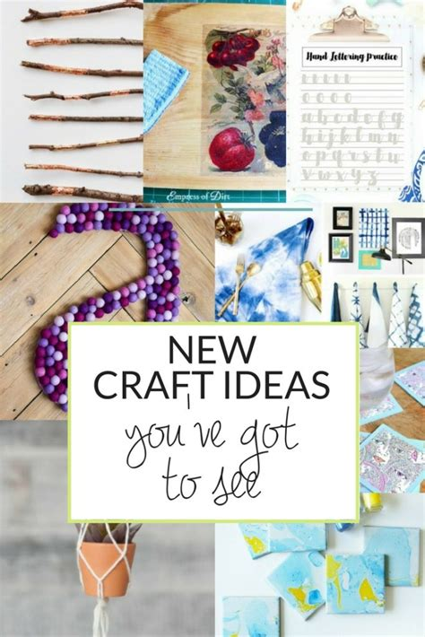 New Crafts Ideas