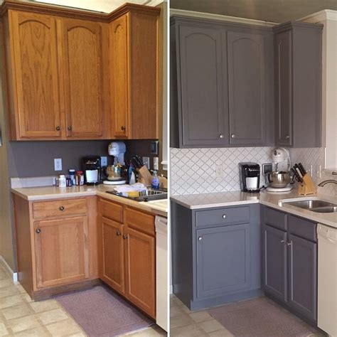 New Doors On Old Cabinets Before After