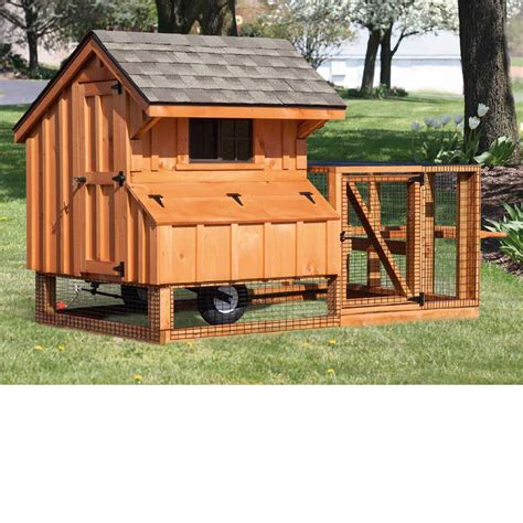 New England Chicken House Plans