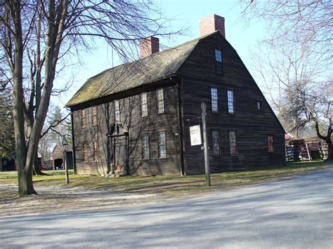 New England Stone Saltbox House Plans