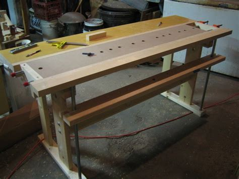 New Fangled Workbench Plan