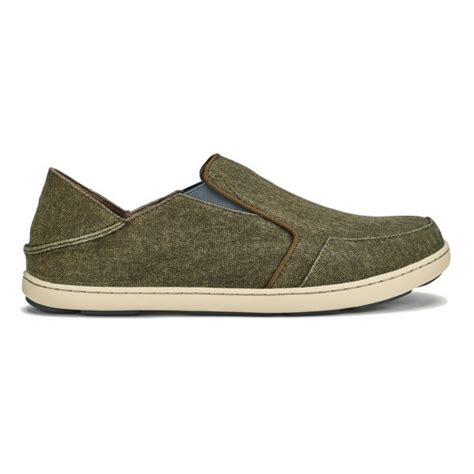 New Men's Nohea Lole Slip On Charcoal/Caper 11.5