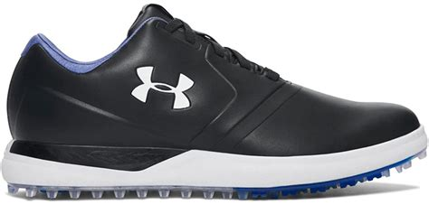 New Mens Golf Shoe UA Performance Spikeless Wide 9.5 Black