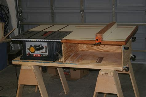 New Yankee Workshop Table Saw Station Plans