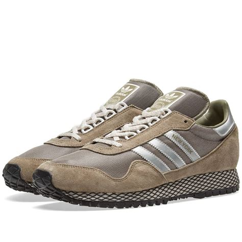 New York Mens in Trace Cargo/Silver by Adidas