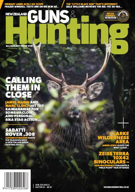 New Zealand Guns Hunting Magazine And Wft2 Trimmer Chambers