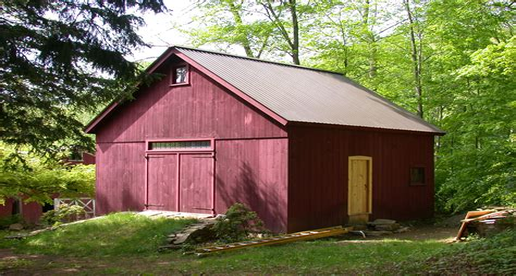 New-England-Style-Barn-Plans