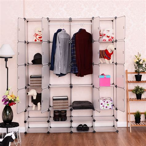 Nex Diy 24 Cube Storage Wardrobe