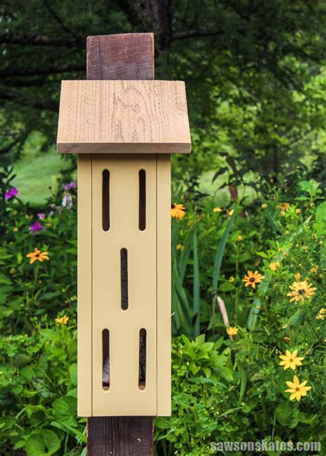 Night Stand Design DIY Butterfly And Flower