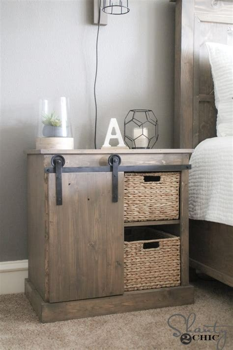 Night Stand Table Diy Hardware