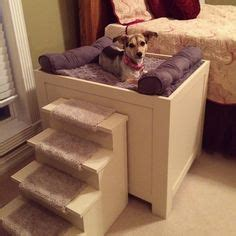 Nightstand Dog Bed Diy With Stairs