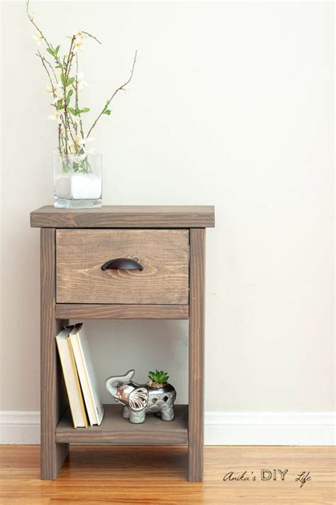 Nightstand With Secret Compartment Plans For Adirondack