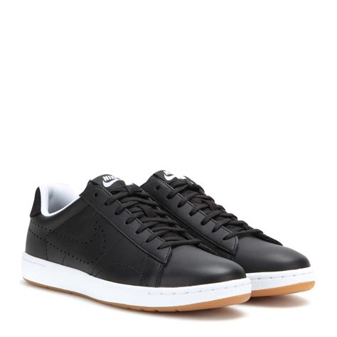 Nike All Black Leather Sneakers