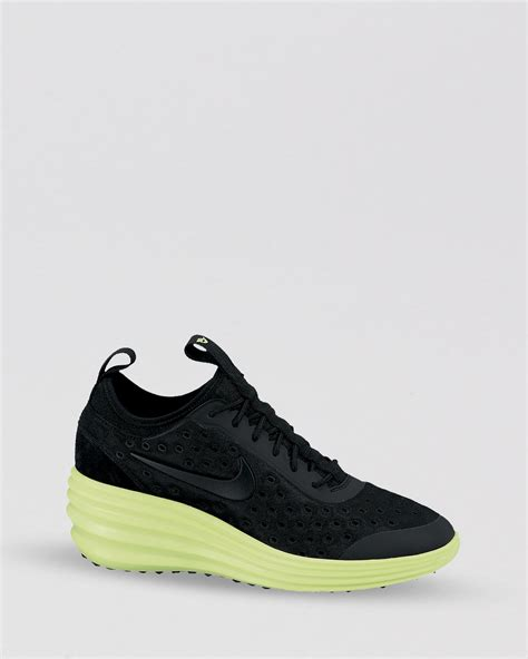 Nike Black Lace Sneakers