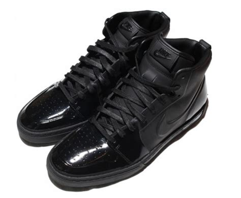 Nike Black Patent Leather Sneakers