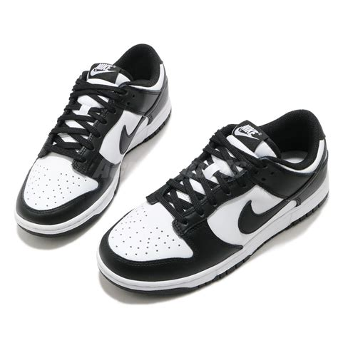 Nike Black White Womens Sneakers