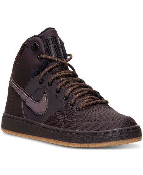 Nike Brown Mens Sneakers
