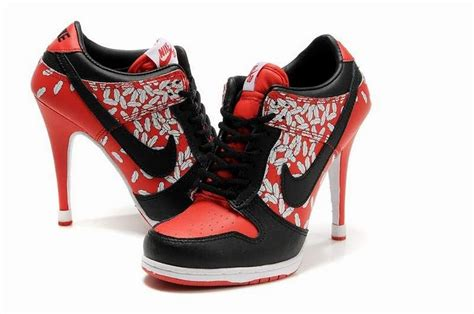 Nike Dunk High Heel Sneakers