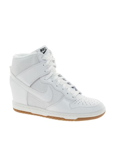 Nike Dunk Wedge Sneakers White