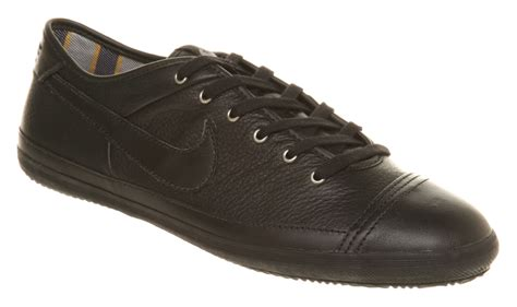 Nike Flash Leather Sneakers Black/black