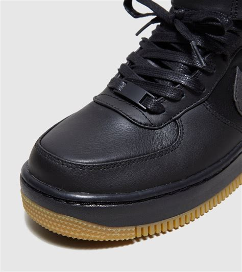Nike Leather Sneaker Boots