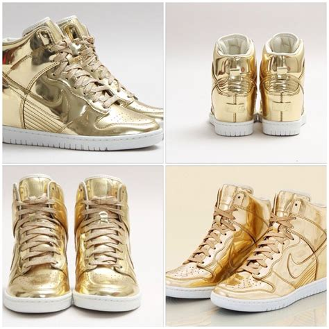 Nike Liquid Gold Wedge Sneakers